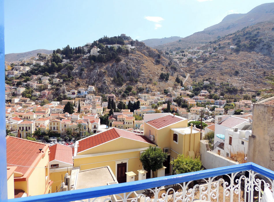 Unobstructed views of Yialos and Horio